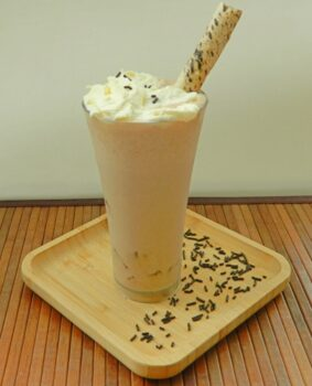 Cocoa Jelly Peanut Butter Milkshake Using Kalya Cocoa Powder - Plattershare - Recipes, Food Stories And Food Enthusiasts