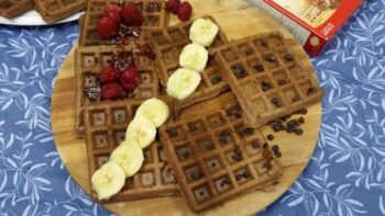 Cake Mix Waffles - Plattershare - Recipes, Food Stories And Food Enthusiasts