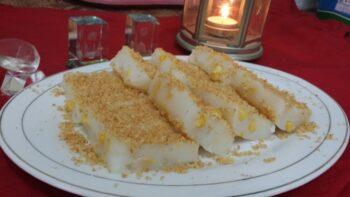 Corn Maja Blanca - Plattershare - Recipes, Food Stories And Food Enthusiasts