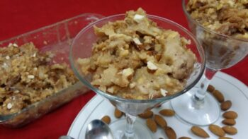 Umm Ali/Egyptian Pastry Pudding - Plattershare - Recipes, Food Stories And Food Enthusiasts