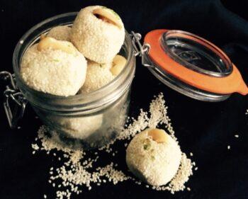 Khoya Til Laddoo.... - Plattershare - Recipes, Food Stories And Food Enthusiasts
