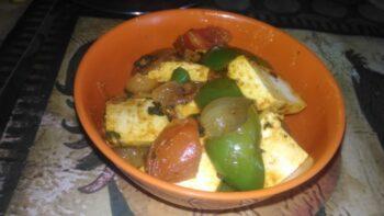 Paneer Jalfrezi - Plattershare - Recipes, Food Stories And Food Enthusiasts