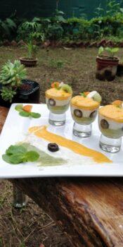 Carrot, Custard Apple And Kiwi Mint Yoghurt Smoothie - Plattershare - Recipes, Food Stories And Food Enthusiasts