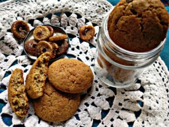 Fig-Almond Cookies - Plattershare - Recipes, Food Stories And Food Enthusiasts