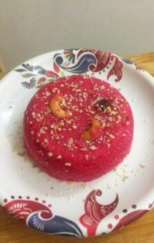 Beetroot Rava Kesari - Plattershare - Recipes, Food Stories And Food Enthusiasts