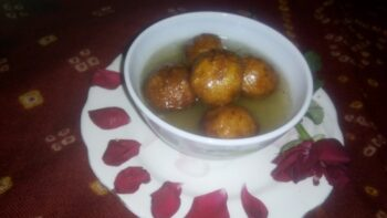 Curd Gulabjamun - Plattershare - Recipes, Food Stories And Food Enthusiasts