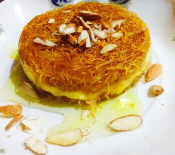 Kunafa...... - Plattershare - Recipes, Food Stories And Food Enthusiasts