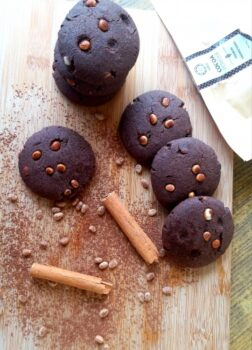 Ragi Cocoa Cookies With Chironji - Plattershare - Recipes, Food Stories And Food Enthusiasts