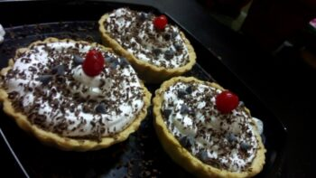 Cappucchino Choclate Tarts - Plattershare - Recipes, Food Stories And Food Enthusiasts