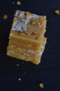 Moong Dal Barfi | How To Make Moong Dal Barfi - Plattershare - Recipes, Food Stories And Food Enthusiasts