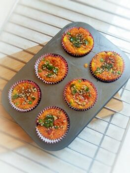 Cheese Muffin Handvo - Plattershare - Recipes, Food Stories And Food Enthusiasts