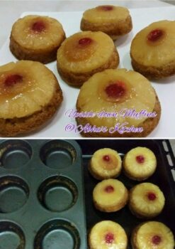 Pineapple Upside Down Muffins - Plattershare - Recipes, Food Stories And Food Enthusiasts