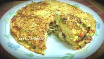 Firitatta The Spanish Omlette - Plattershare - Recipes, Food Stories And Food Enthusiasts