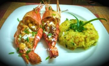 Prawn Thirmidor - Plattershare - Recipes, Food Stories And Food Enthusiasts