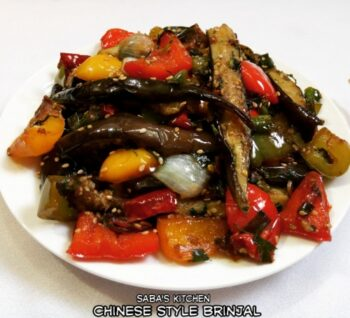 Chinese Style Eggplant - Plattershare - Recipes, Food Stories And Food Enthusiasts