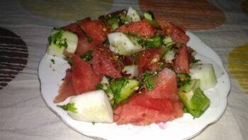 Watermelon Salsa - Plattershare - Recipes, Food Stories And Food Enthusiasts
