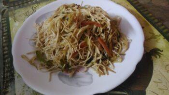 Singapuri Noodles - Plattershare - Recipes, Food Stories And Food Enthusiasts