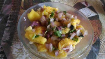 Ripe Mango Salsa - Plattershare - Recipes, Food Stories And Food Enthusiasts