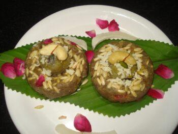 Sharkund Halwa (Sweet Potato Halwa) - Plattershare - Recipes, Food Stories And Food Enthusiasts