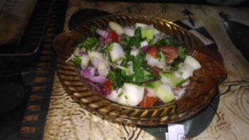 Raw Mango Salsa - Plattershare - Recipes, Food Stories And Food Enthusiasts