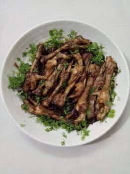 Soy Chili Chicken Feet - Plattershare - Recipes, Food Stories And Food Enthusiasts