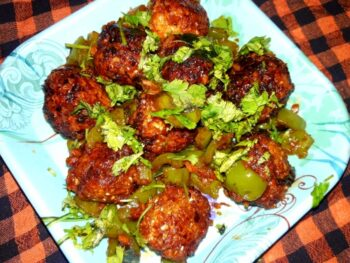 Dry Cabbage Manchurian - Plattershare - Recipes, Food Stories And Food Enthusiasts