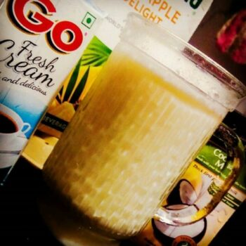 Virgin Pina Colada - Plattershare - Recipes, Food Stories And Food Enthusiasts