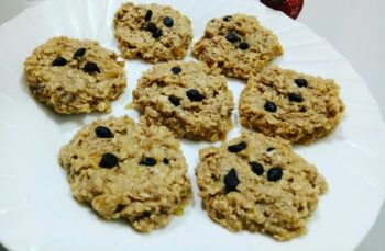 No Bake Banana Peanut Butter Cookies - Plattershare - Recipes, Food Stories And Food Enthusiasts