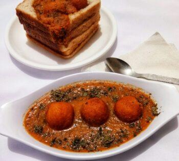 Bread Kofta In Pumpkin Gravy - Plattershare - Recipes, Food Stories And Food Enthusiasts