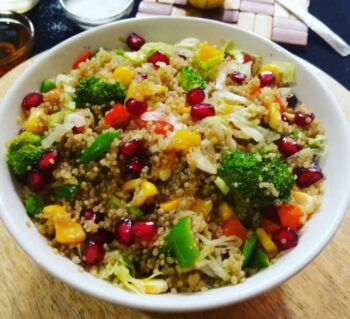 Ginger Honey Quinoa Bowl - Plattershare - Recipes, Food Stories And Food Enthusiasts