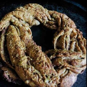 Estonian Kringle / Cinmamon Butter Honey Braided Wreath Bread - Plattershare - Recipes, Food Stories And Food Enthusiasts