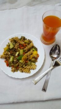 Sprouts Rotini Pasta - Plattershare - Recipes, Food Stories And Food Enthusiasts