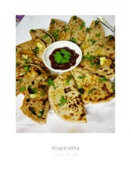 Stuffed Alloo Parata - Plattershare - Recipes, Food Stories And Food Enthusiasts