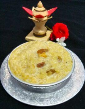 Atukula Payasam, Poha Kheer, Avalakki Payasa, Flattened Rice Kheer - Plattershare - Recipes, Food Stories And Food Enthusiasts