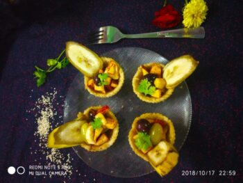 Millet Rice Fruit Cups Chat - Plattershare - Recipes, Food Stories And Food Enthusiasts