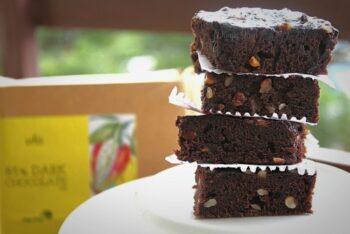 Black Bean Fudgy Dark Chocolate Brownie - Plattershare - Recipes, Food Stories And Food Enthusiasts