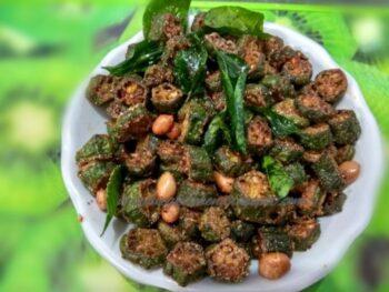 Kurkuri Bhindi, Bendakaya Vepudu, Vendakkai Varuval - Plattershare - Recipes, Food Stories And Food Enthusiasts