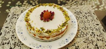 Boondi Laddoo Cheesecake - Plattershare - Recipes, Food Stories And Food Enthusiasts