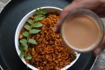 Avalakki/Poha Puliyogare - Plattershare - Recipes, Food Stories And Food Enthusiasts