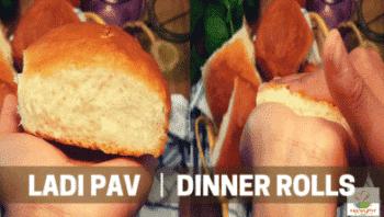 Eggless Ladi Pav | Eggless Pav Buns |Eggless Simple Dinner Rolls | Eggless Soft &Amp; Spongy Bun - Plattershare - Recipes, Food Stories And Food Enthusiasts