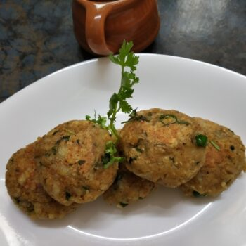 Oat Tikki - Plattershare - Recipes, Food Stories And Food Enthusiasts