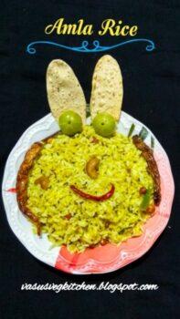 Usirikaya Pulihora, Nelikai Chitranna, Nellikai Sadam, Amla Rice, Gooseberry Rice , How To Prepare Amla Rice(Pulihora) - Plattershare - Recipes, Food Stories And Food Enthusiasts