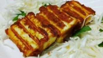 Garlic Paneer | Paneer Starter | Grilled Garlic Paneer - Plattershare - Recipes, Food Stories And Food Enthusiasts