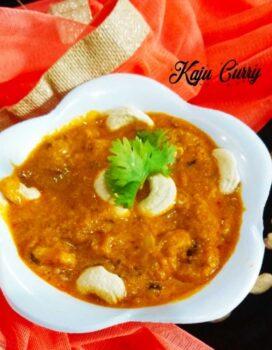 Kaju Curry || Kaju Masala Curry || Cashew Nut Curry || Restaurant Style Kaju Curry - Plattershare - Recipes, Food Stories And Food Enthusiasts