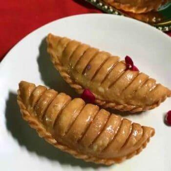 Layered Gujiya - Plattershare - Recipes, Food Stories And Food Enthusiasts