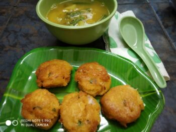 Instant Vada - Plattershare - Recipes, Food Stories And Food Enthusiasts