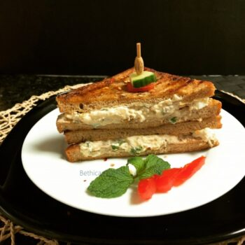 Double Egg Sandwich - Plattershare - Recipes, Food Stories And Food Enthusiasts