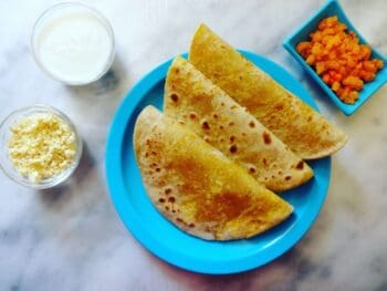 Paneer Paratha - Plattershare - Recipes, Food Stories And Food Enthusiasts