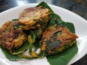 Pumpkin Leaves Fried With Pumpkin - Plattershare - Recipes, Food Stories And Food Enthusiasts