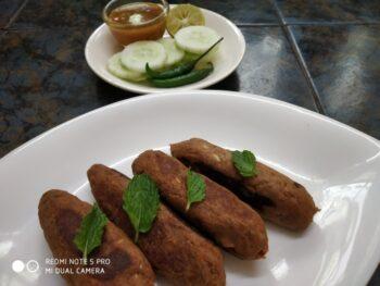 Jackfruit Seekh Kebab - Plattershare - Recipes, Food Stories And Food Enthusiasts